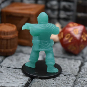 Resin Miniature - Town Guard Crossbowman side Pouch - Resin Print - Duncan Shadow