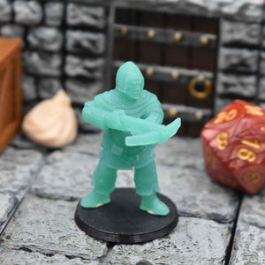 Resin Miniature - Town Guard Crossbowman with front Pouch - Resin Print - Duncan Shadow