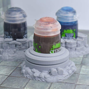 Scatter Pucks - Smelting Pot - FDM Print - Hayland Terrain