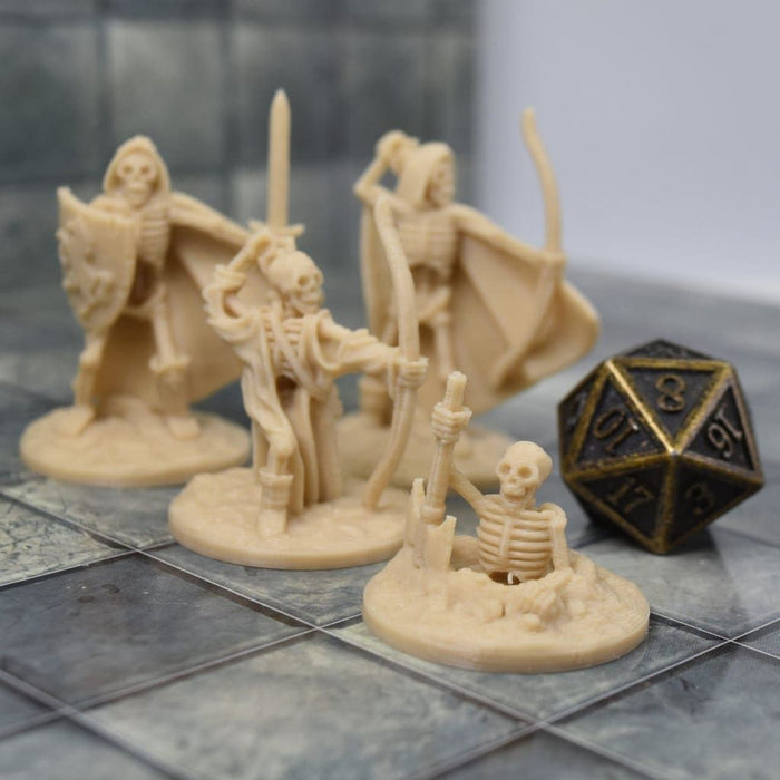 Skeleton Miniatures - Set 2