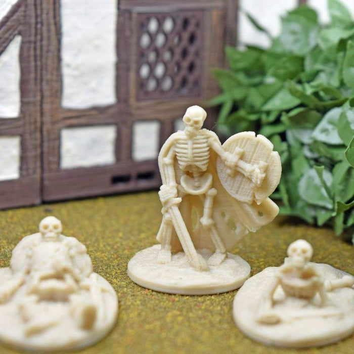 Skeleton Miniatures - Set 3