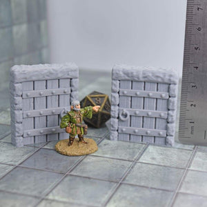 Stand-Alone Doors - FDM Print - Fat Dragon Games