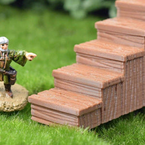 Wood Stairs - FDM Print - Fat Dragon Games