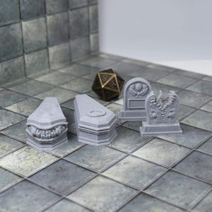 Tombstone Mimics - FDM Print - Lost Adventures