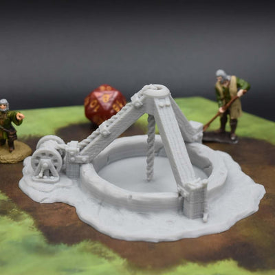 Vertical Mine Shaft - FDM Print - EC3D / Heros Hoard