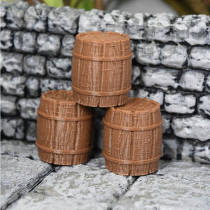 Village - Barrels - FDM Print - Fat Dragon Games