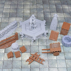 Village Encounter Set - FDM Print - Fat Dragon Games