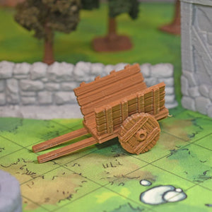 Village - Wagon Cart - FDM Print - Fat Dragon Games