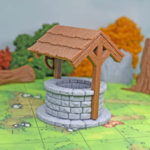 Village - Water Well - FDM Print - Fat Dragon Games