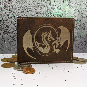 Wallet Bifold - Dragon - Accessories - GriffonCo