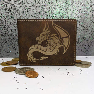 Wallet Bifold - Sitting Dragon - Accessories - GriffonCo