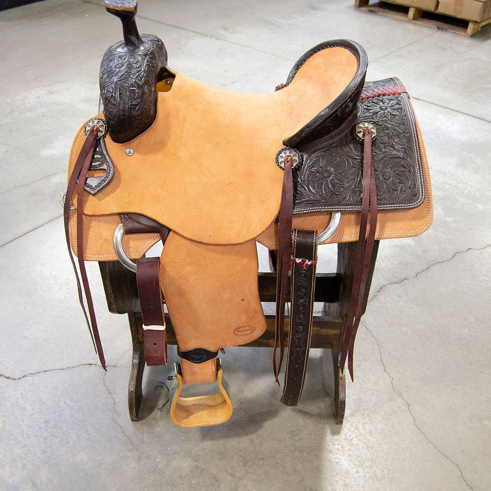 "16"" TESKEY'S RANCH SADDLE Saddles - New Saddles - RANCH Teskey's Teskeys"
