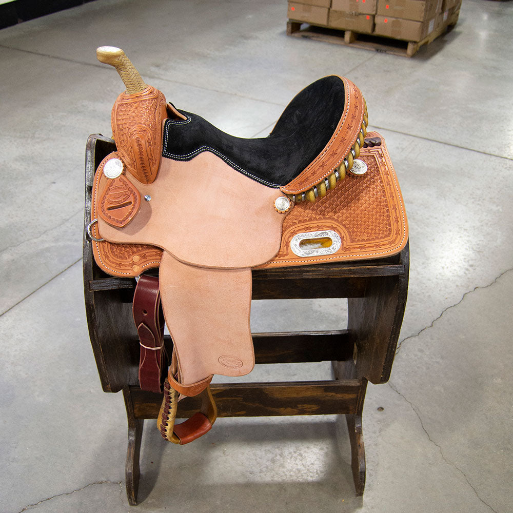 "13"" TESKEY'S BARREL SADDLE Saddles - New Saddles - BARREL Teskey's Teskeys"