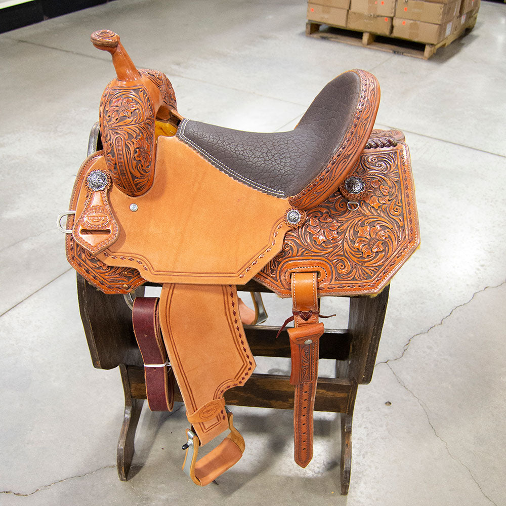 "14"" TESKEY'S BARREL SADDLE"