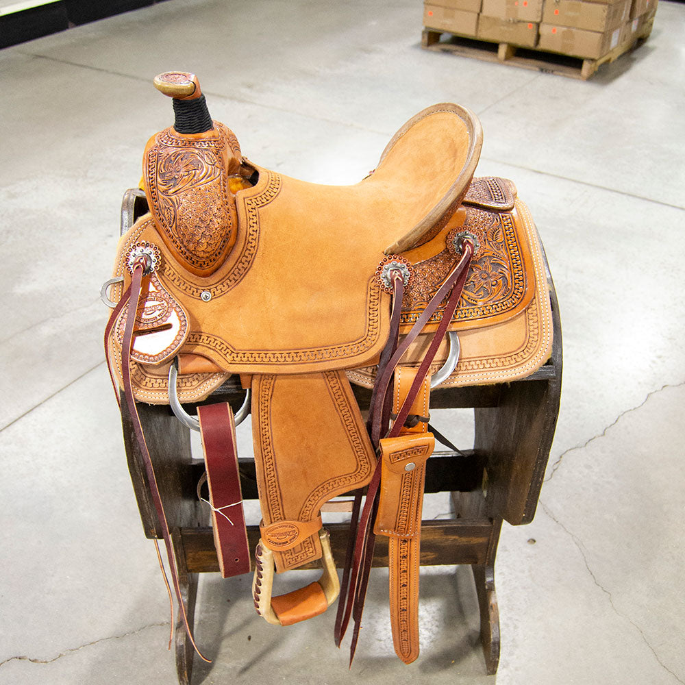"13"" TESKEY'S ALL AROUND SADDLE"