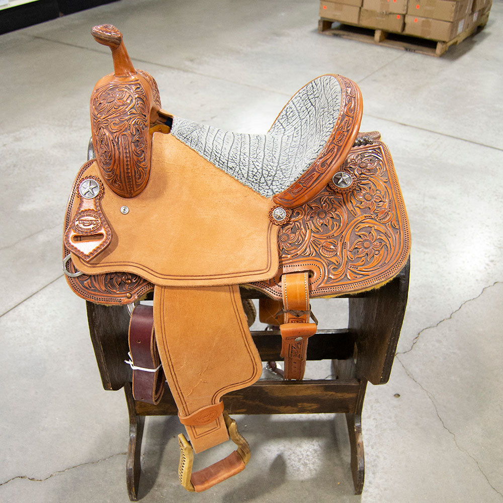"13"" TESKEY'S BARREL SADDLE"