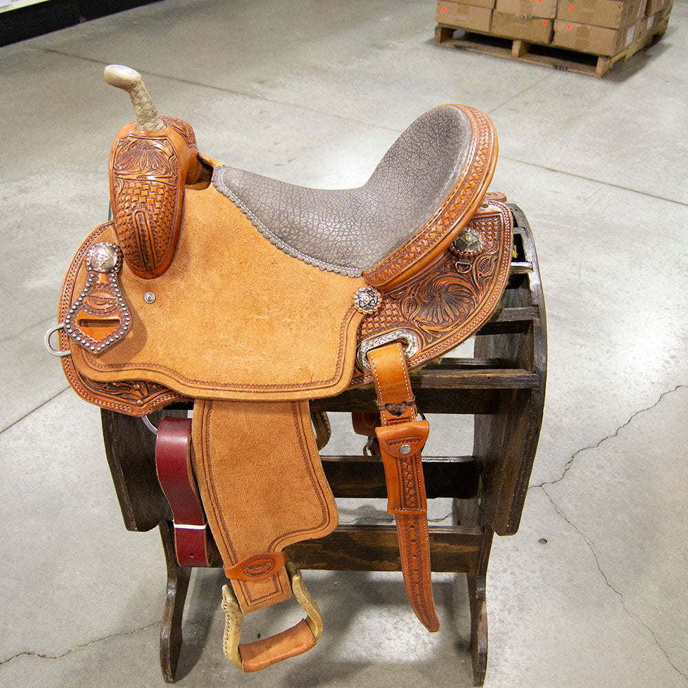 "14.5"" TESKEY'S BARREL SADDLE"
