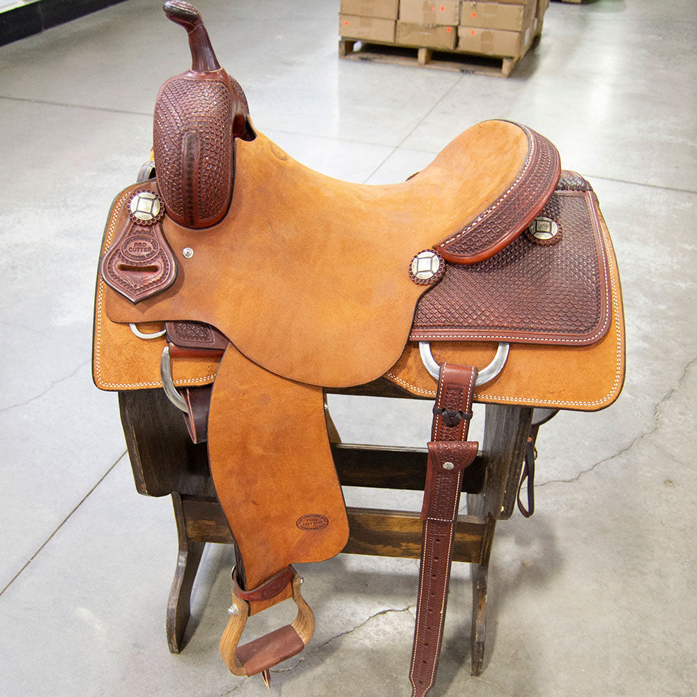 "16"" TESKEY'S PRO CUTTING SADDLE Saddles - New Saddles - CUTTER Teskey's Teskeys"