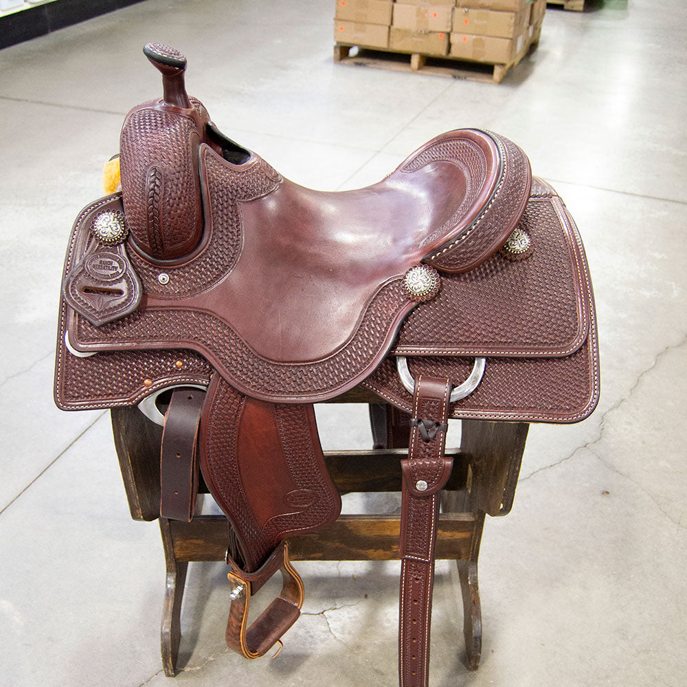 "16"" TESKEY'S RANCH VERSATILITY Saddles - New Saddles - RANCH VERSATILITY Teskey's Teskeys"