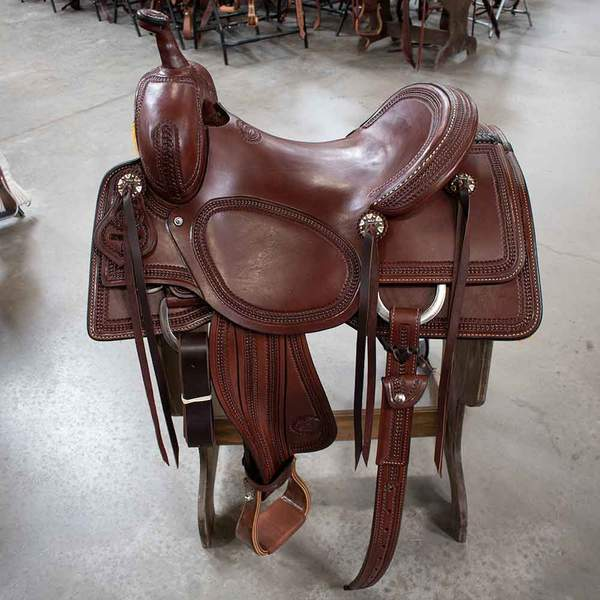 "15.5"" TESKEYS PRO CUTTING SADDLE"