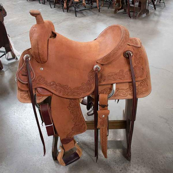 "16"" TESKEYS RANCH CUTTING SADDLE"