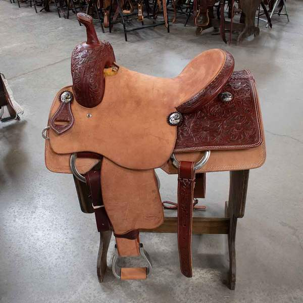 "15"" TESKEYS CUTTING SADDLE"