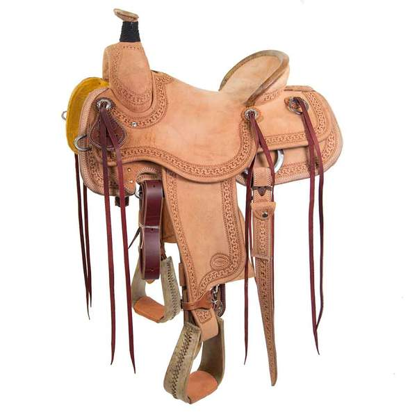 "15"" TESKEYS RANCH SADDLE Saddles - New Saddles - RANCH Teskeys Teskeys"