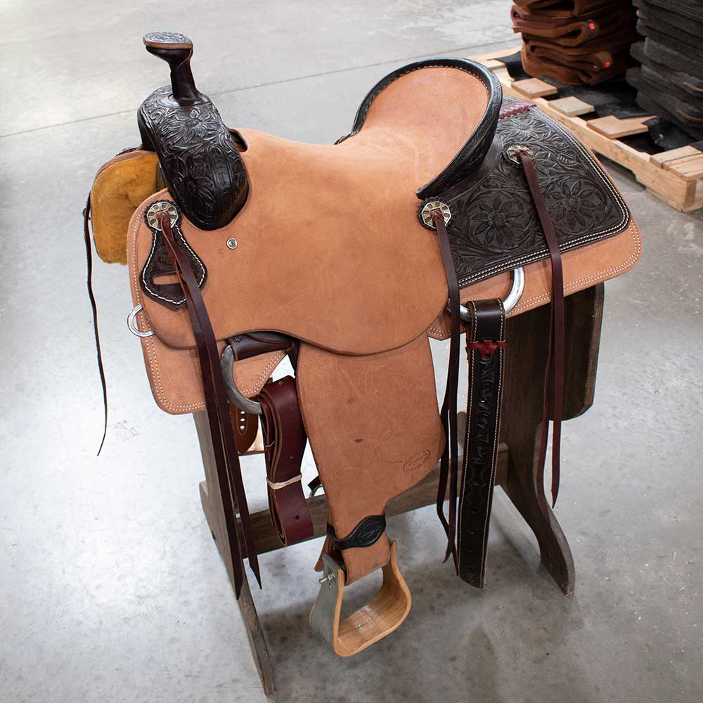 "15.5"" TESKEYS RANCH SADDLE"