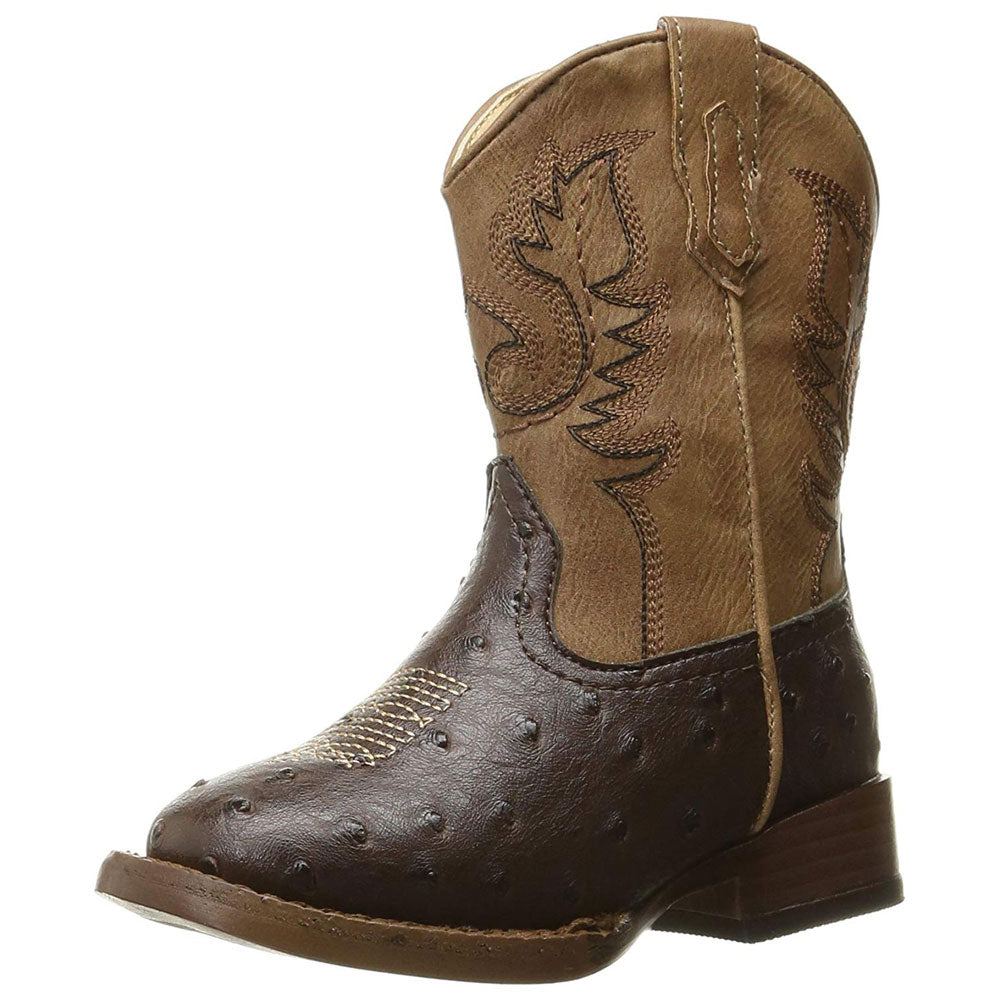 Roper Toddler Cowboy Cool Boot KIDS - Baby - Baby Footwear ROPER APPAREL & FOOTWEAR Teskeys