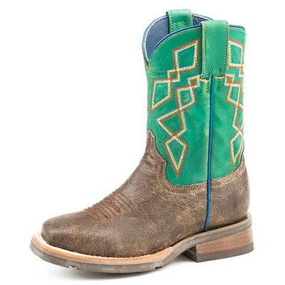 Kid's Roper Pattern Boots KIDS - Footwear - Boots ROPER APPAREL & FOOTWEAR Teskeys