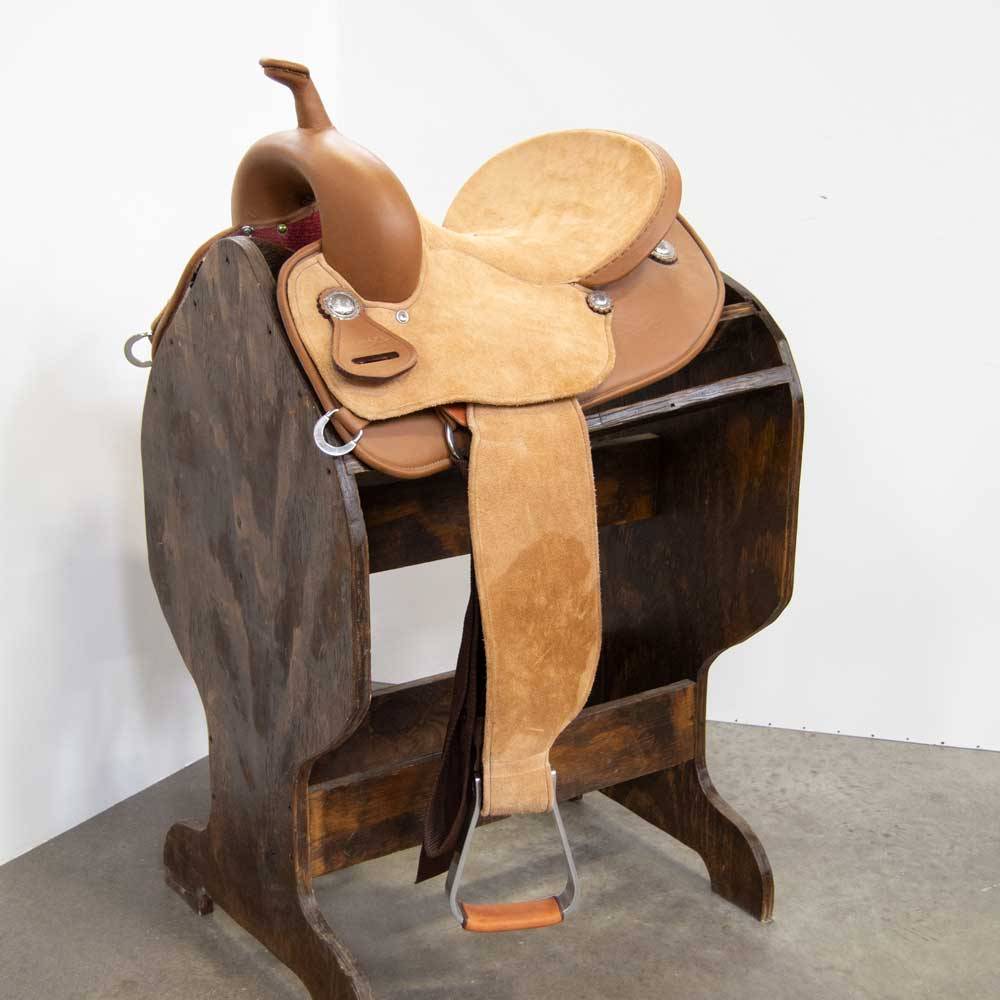"13"" TESKEY'S BRAZILIAN BARREL SADDLE Saddles - New Saddles - BARREL Teskey's Teskeys"