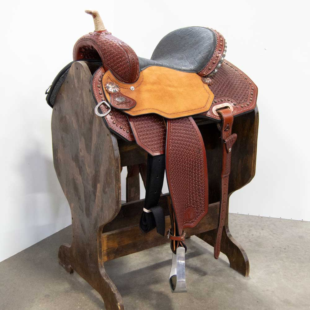 "15"" CIRCLE Y LISA LOCKHART BARREL SADDLE Saddles - New Saddles - BARREL Circle Y Teskeys"