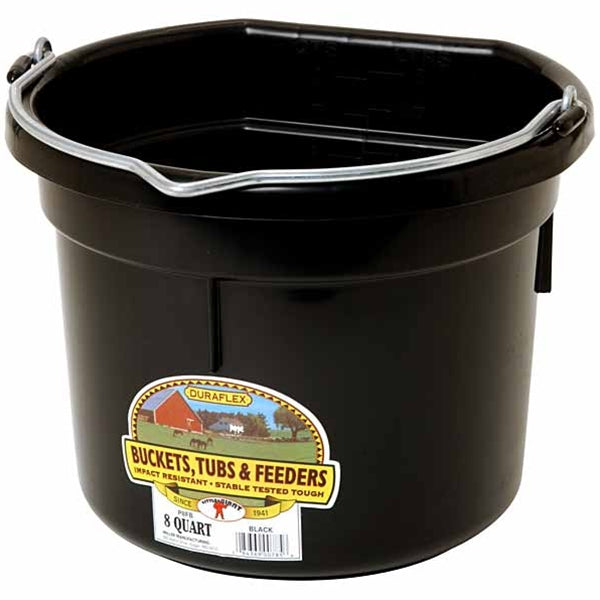 Duraflex Flat Back Bucket Farm & Ranch - Barn Supplies - Buckets & Feeders Teskeys Teskeys