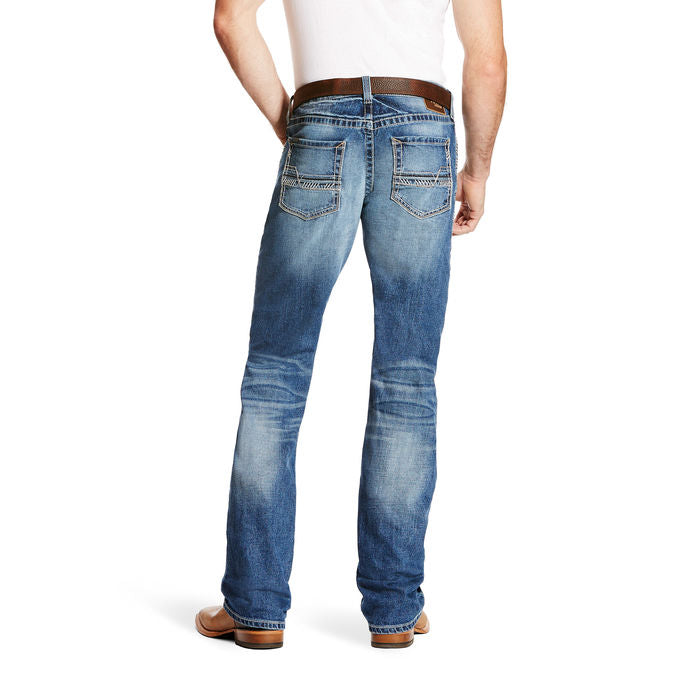 Ariat M5 Slim Stretch Stillwell Straight Leg MEN - Clothing - Jeans ARIAT CLOTHING ONLY! Teskeys
