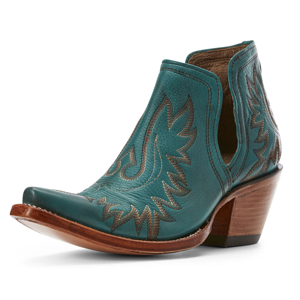 Ariat Dixon Agate Green Snip Toe Ankle Boot WOMEN - Footwear - Boots - Booties Ariat Footwear Teskeys