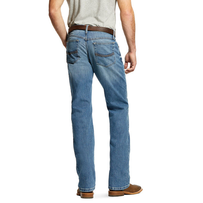 Ariat M4 Low Rise Stretch Legacy Stackable Straight Leg Jean MEN - Clothing - Jeans ARIAT CLOTHING ONLY! Teskeys