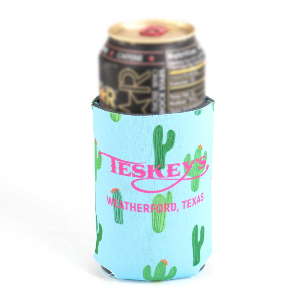 Teskey's Cactus Koozie HOME & GIFTS - Tabletop + Kitchen - Bar Accessories REPUBLIC CREATIVE GROUP Teskeys