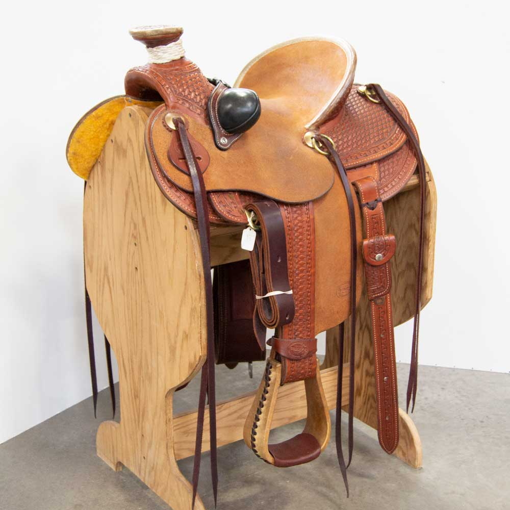 "13"" TESKEY'S YOUTH RANCH SADDLE Saddles - New Saddles - RANCH Teskey's Teskeys"