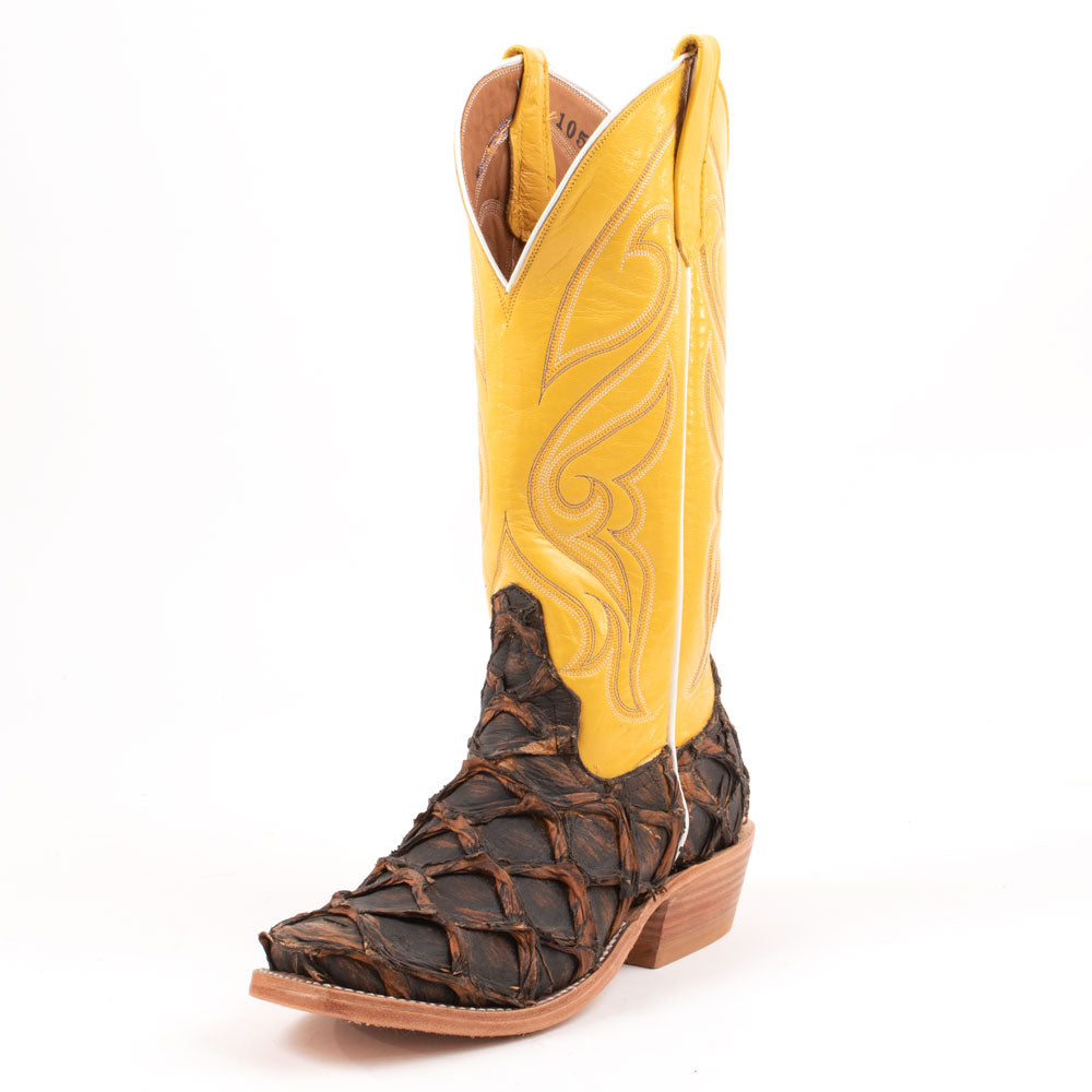 Rios of Mercedes Rusty Crush Corn Boot WOMEN - Footwear - Boots - Exotic Boots RIOS OF MERCEDES BOOT CO. Teskeys