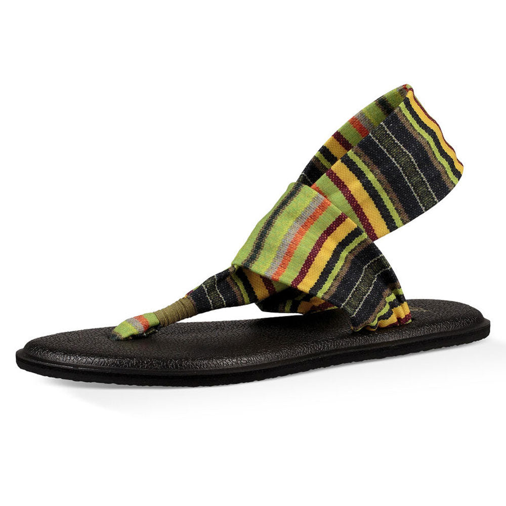 Sanuk Youth Burst Print Yoga Sling KIDS - Girls - Footwear - Flip Flops & Sandals SANUK Teskeys