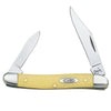 Yellow Handle SS Pen Knife Knives - Knives - Case Case Teskeys