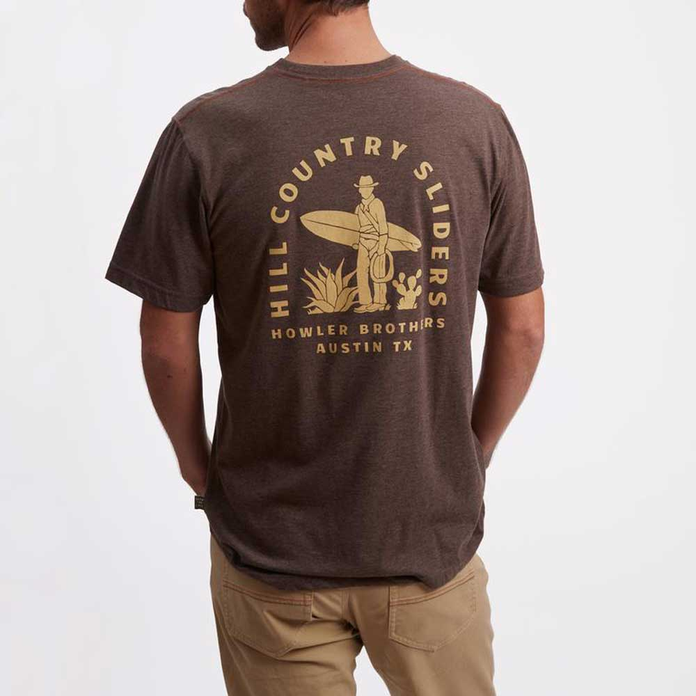 Howler Hill Country Sliders Pocket T-Shirt MEN - Clothing - T-Shirts & Tanks HOWLER BROS Teskeys