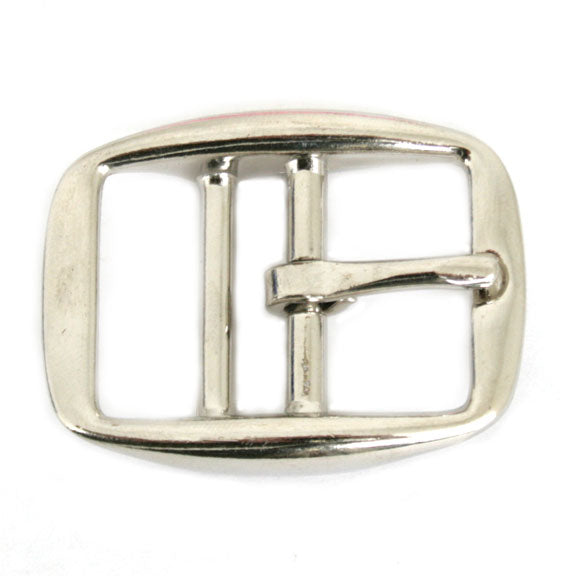 Nickel Plated Die Cast Double Bar Buckle