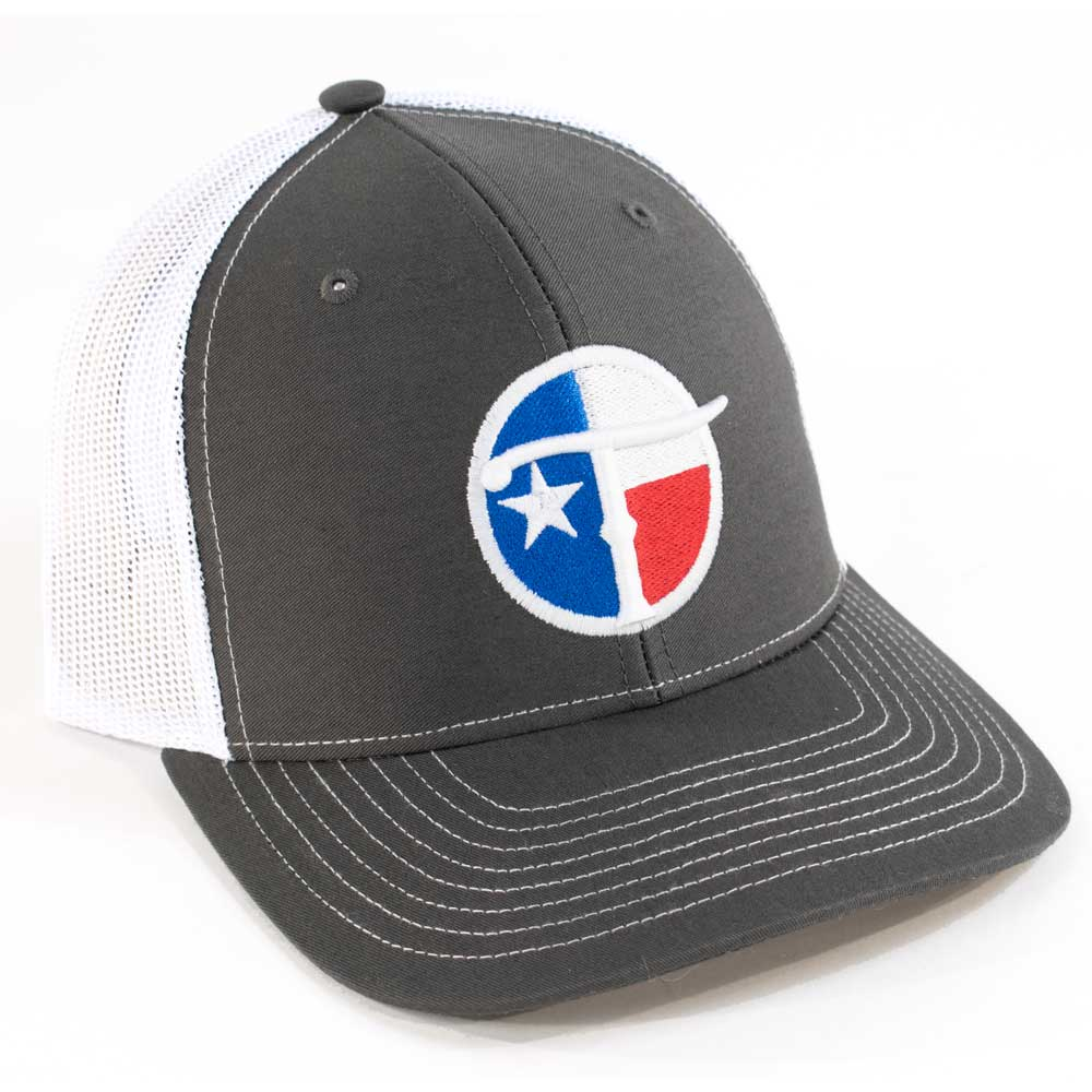 Teskey's Texas Flag 3D Circle T Logo Cap TESKEY'S GEAR - Baseball Caps RICHARDSON Teskeys