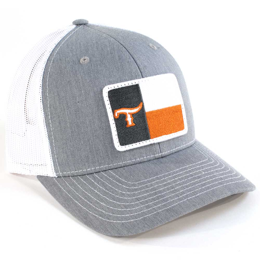 Teskey's Texas T Flag Cap Burnt Orange TESKEY'S GEAR - Baseball Caps RICHARDSON Teskeys