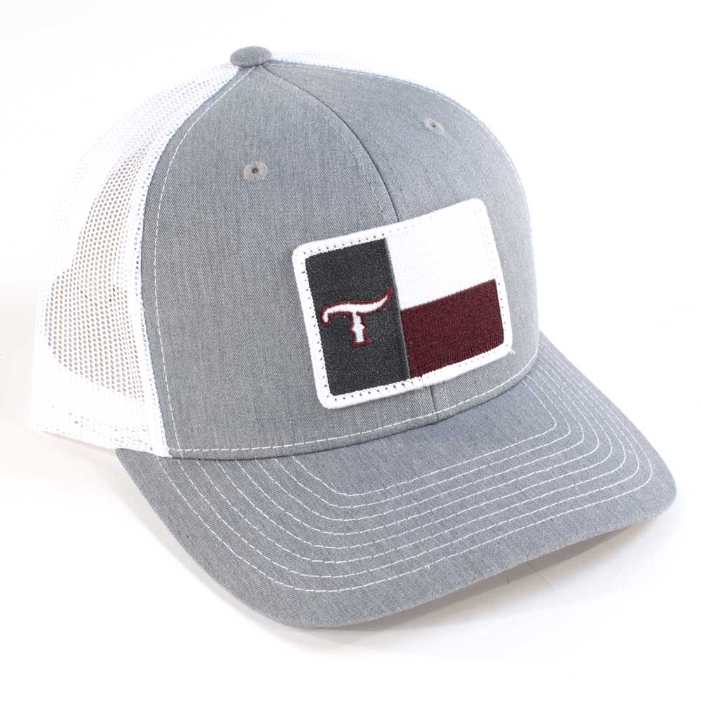 Texas T Flag Cap - Maroon TESKEY'S GEAR - Baseball Caps RICHARDSON Teskeys