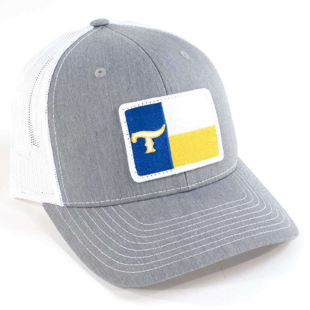 Teskey's Texas T Flag Cap Royal/Yellow TESKEY'S GEAR - Baseball Caps RICHARDSON Teskeys