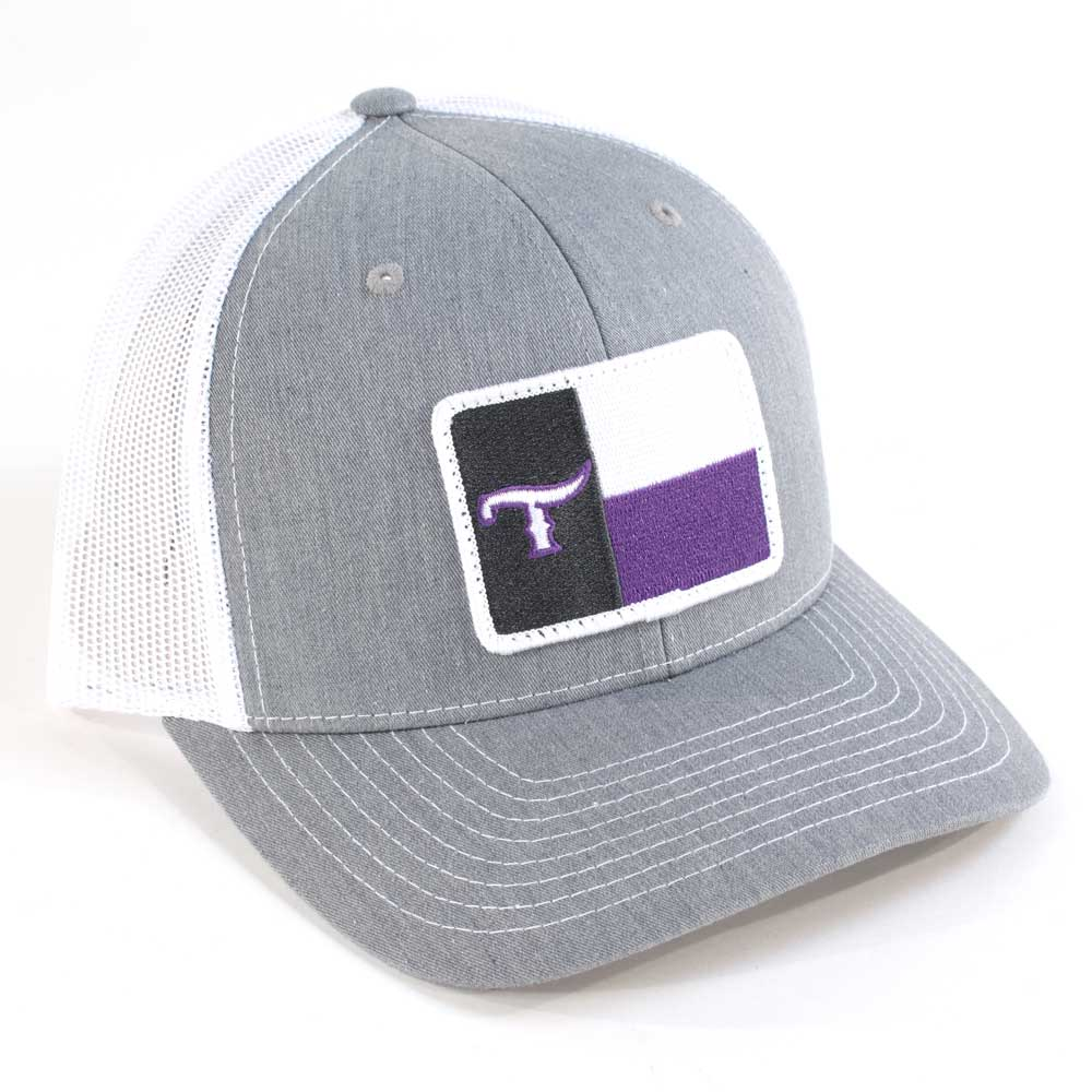 Teskey's Texas T Flag Cap Purple TESKEY'S GEAR - Baseball Caps RICHARDSON Teskeys