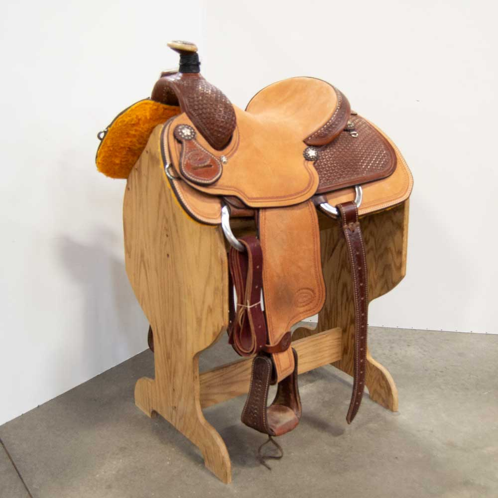 "13"" PATRICK SMITH ROPING SADDLE"