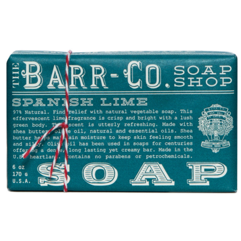 Barr Co. Spanish Lime Soap HOME & GIFTS - Bath & Body - Bath Accessories Barr Co. Teskeys
